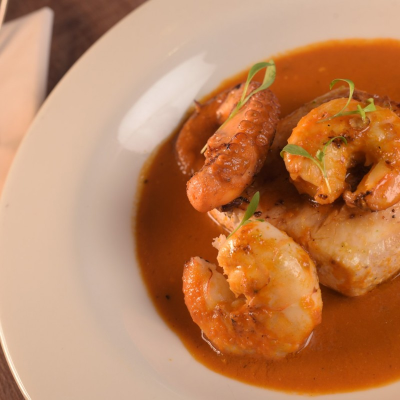 Colombian Fish and Seafood stew